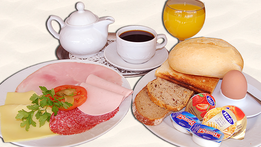 Frühstück, desayuno, breakfast
