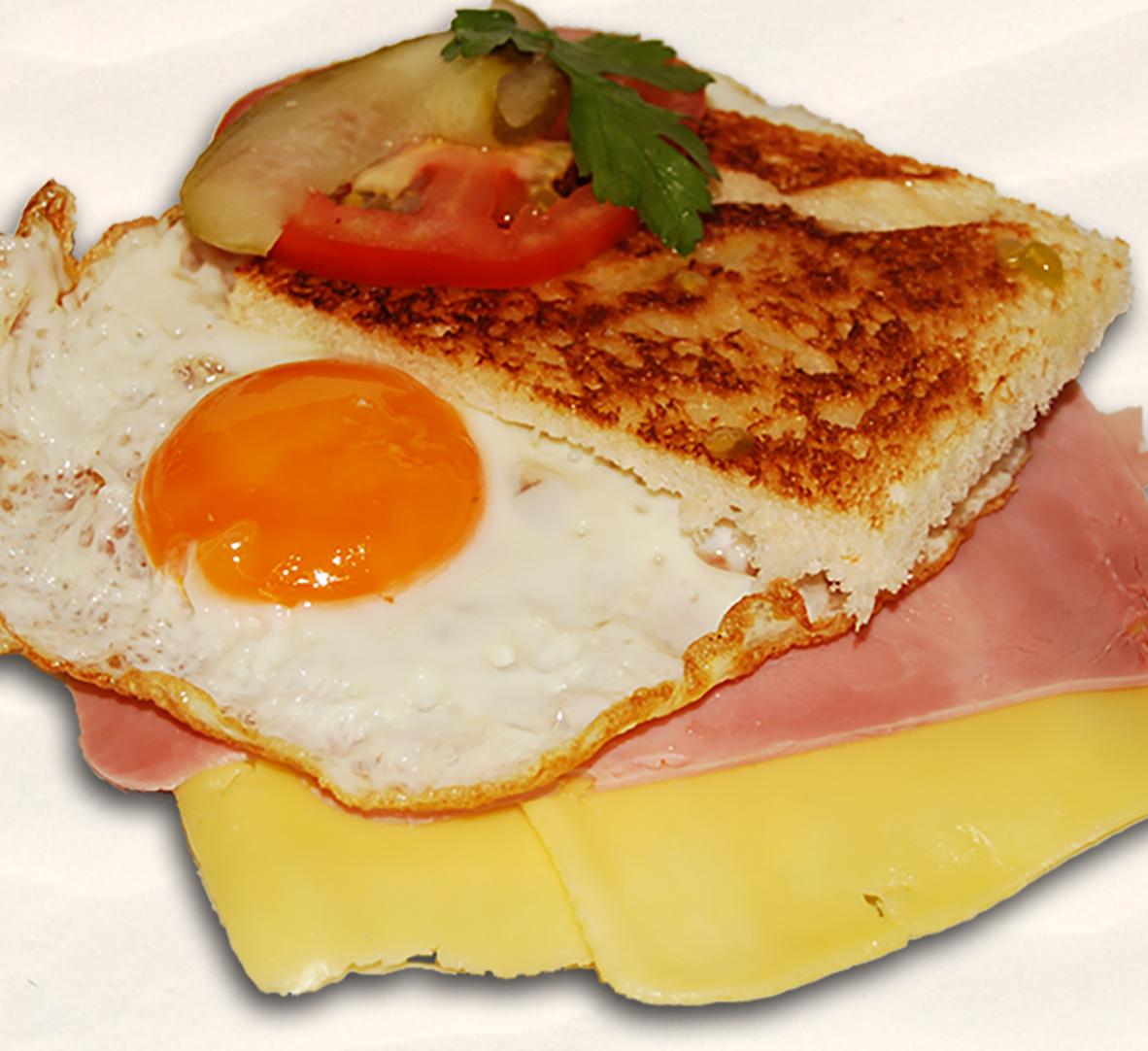 Frühstück, desayuno, breakfast, Sandwich